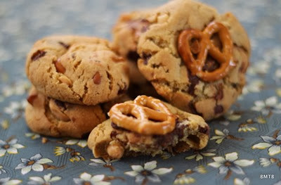 Choc Pretzel Cookies 3