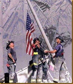 911-flag-raising