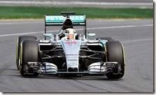 Lewis Hamilton conquista la pole del gran premio d'Australia 2015