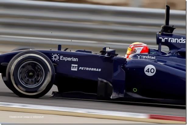 2014 F1 Pre Season Test 2 - Day 4 Bahrain International Circuit, Bahrain. Saturday 22 February 2014. Felipe Nasr, Williams FW36 Mercedes. World Copyright: Andrew Ferraro/Williams F1. ref: Digital Image _Q0C2184