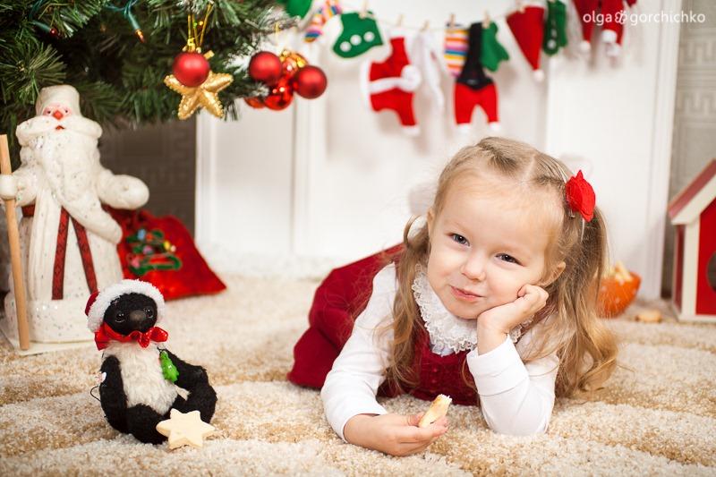 Детский новогодний фотопроект Рождественские мечты. 1. Варя-14