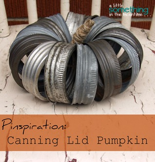 Canning Lid Pumpkin Square Banner WM