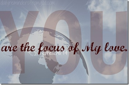 focus of my love