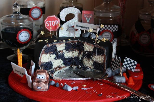 bursdagskake gutt_cars_bursdag_barnebursdag_kake
