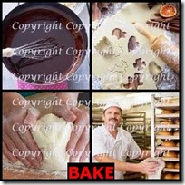 BAKE- 4 Pics 1 Word Answers 3 Letters