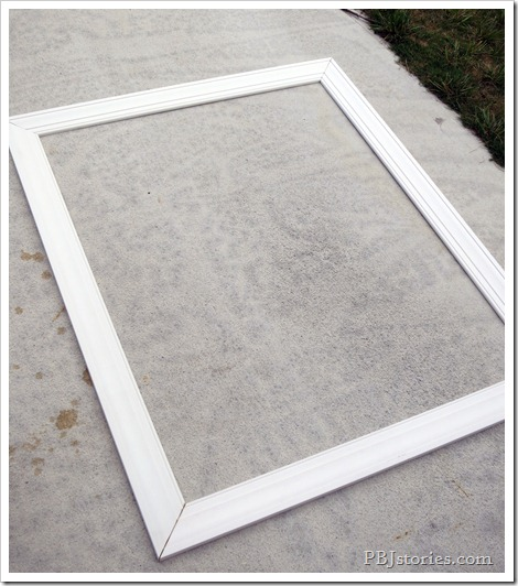 Frame your own mirror