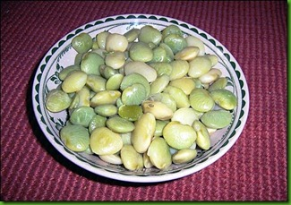 Fordhook Lima Beans