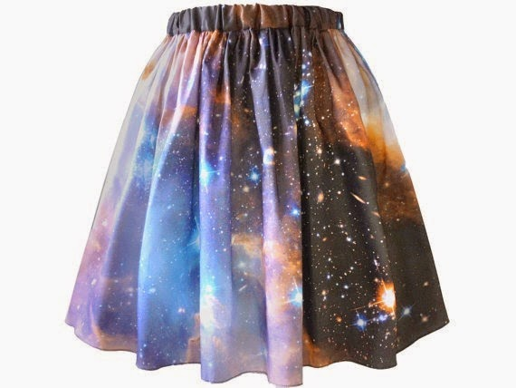 Sagan Galaxy Skirt from Shadow Play NYC