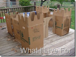 Cardboard Castle