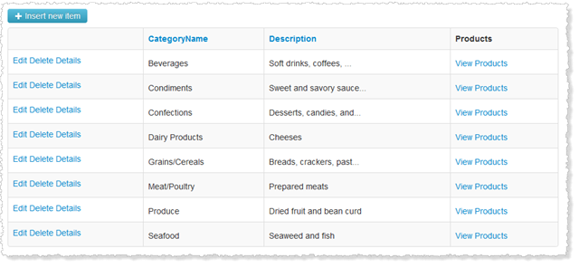 C bits gridview bootstrap update for Html table bootstrap