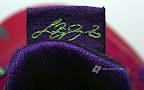 nike lebron 10 low gr purple neon green 3 13 Release Reminder: NIKE LEBRON X LOW Raspberry (579765 601)