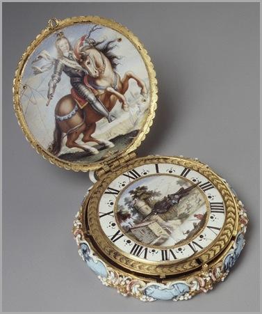 Joven Luis XIV a caballo