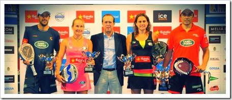 WPT Granada International Open 2013: Díaz-Belasteguín y Navarro-Reiter campeones.