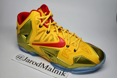 nike lebron 11 id production jarodmalnik 1 01 LeBron 11 Carmex PE That You Can Also Design on Nike iD