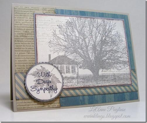 LeAnne Pugliese WeeInklings Sympathy Card Artistic Outpost