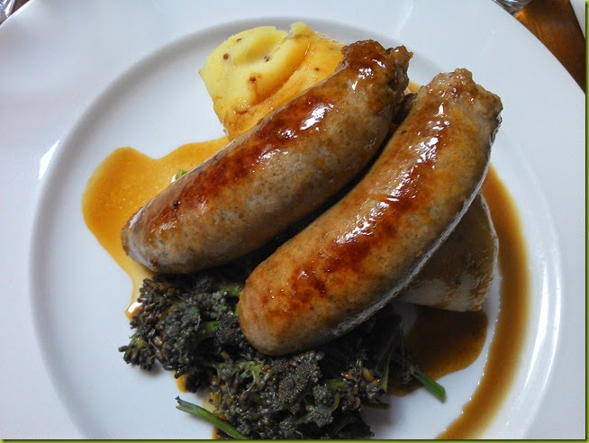 Market Bistro fruit pig sausages
