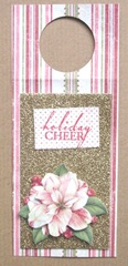 wine tag Christmas rose1