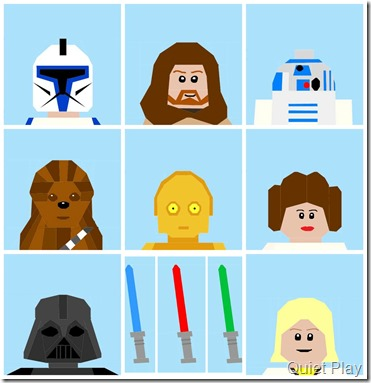 Lego Star Wars characters so far