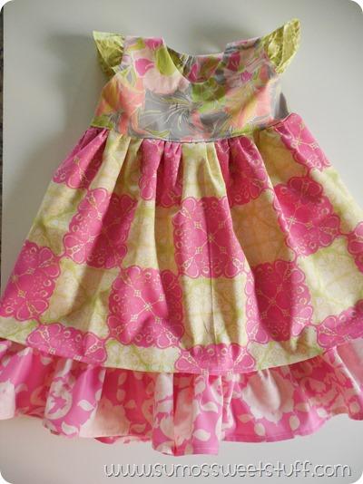 Sumo's Sweet Stuff - Flowy Flutter Dress