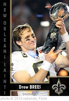 '#26 - Drew Brees (New Orleans Saints)' photo (c) 2010, rubendn - license: http://creativecommons.org/licenses/by/2.0/
