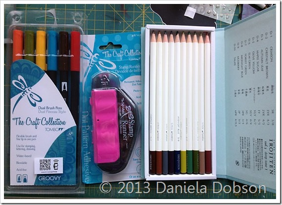 100 days of Tombow Daniela Dobson