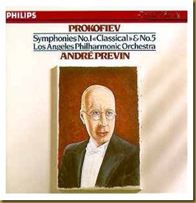 Prokofiev Sinfonía Clásica Previn Los Angeles