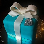 Tiffany Box Cake-watermark