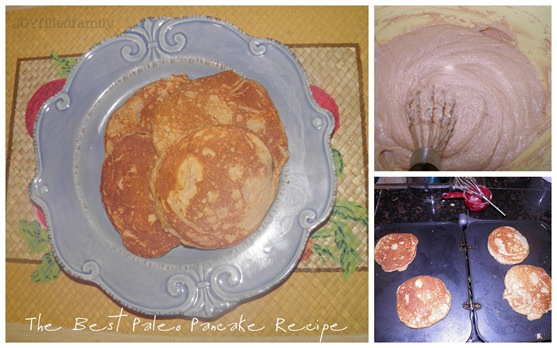 the best paleo pancake recipe