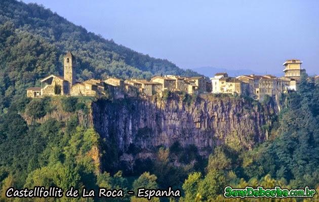 CASTELLFOLLIT DE LA ROCA – ESPANHA
