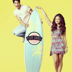 Lucy Hale y Darren Criss serán los conductores de los Teen Choice Awards 2013