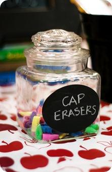 cap erasers