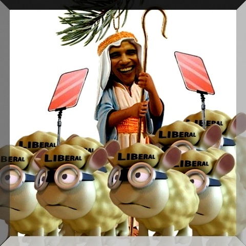 obama army of sheep
