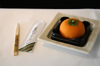 Wagashi: Japanese Sweet with Otemoto Stick