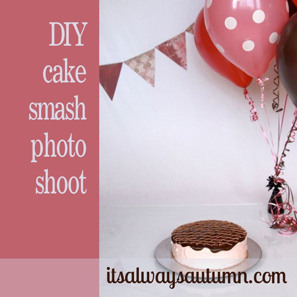 1st birthday photo shoot tips diy