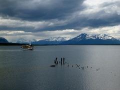 Picturesque Puerto Natales, Chile.