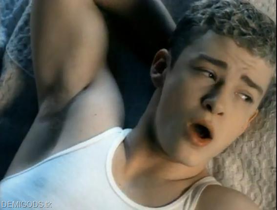 Justin Timberlake armpit