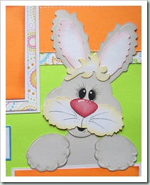 bunny svg topper easter