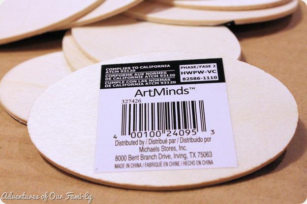 kitchen organization wood ovals