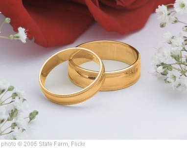 'Wedding rings' photo (c) 2005, State Farm - license: http://creativecommons.org/licenses/by/2.0/