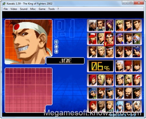 Free Download The King of Fighters 2002 PC Games (NEO-GEO + EMULATOR)