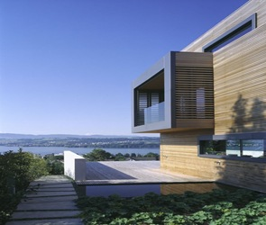 diseño de ventanas en fachadas modernas