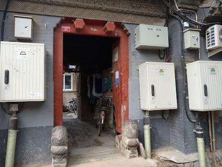 Case traditionale din Beijing