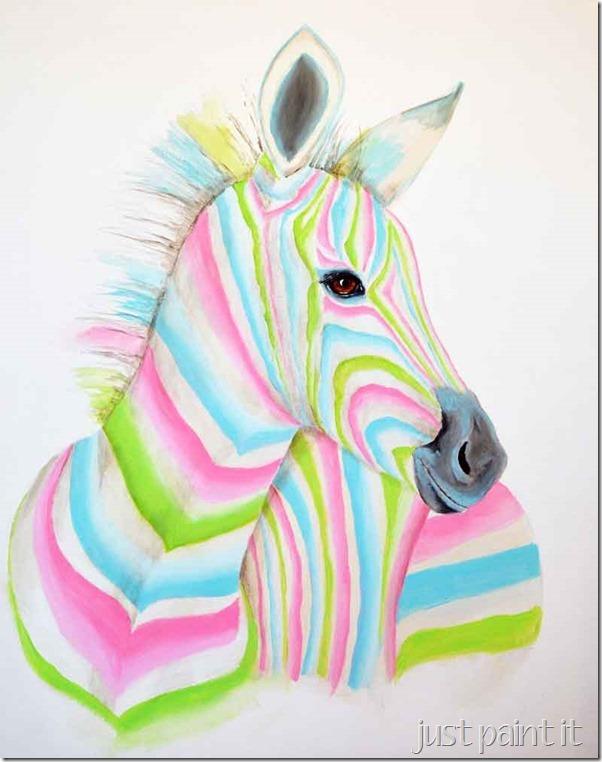 Zebra-Painting-E