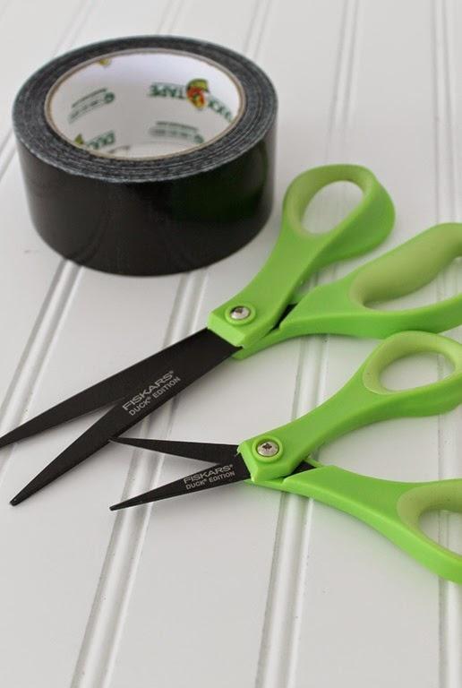 duck tape non stick scissors