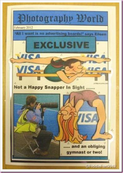 Gymnast Card