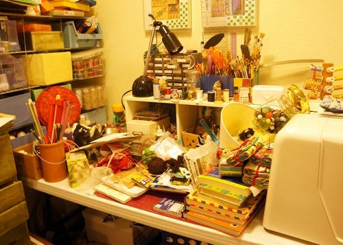My messy basement