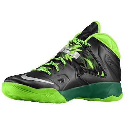 nike zoom soldier 7 gr black neon green 2 01 eastbay LEBRONs Nike Zoom Soldier VII $135 Pack Available at Eastbay