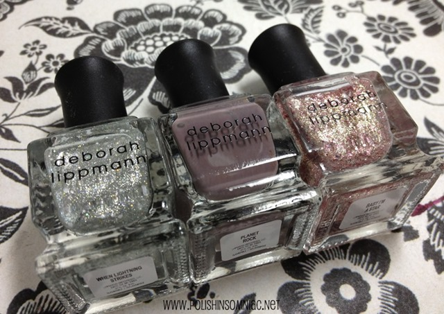 Deborah Lippmann Space Oddity Trio 3