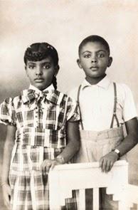 Gilberto Gil e la sorellina, fonte: Guia UOL