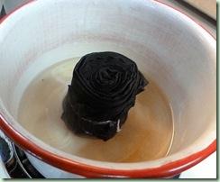 BlackScarf in pot